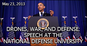 Speech at the National Defense University